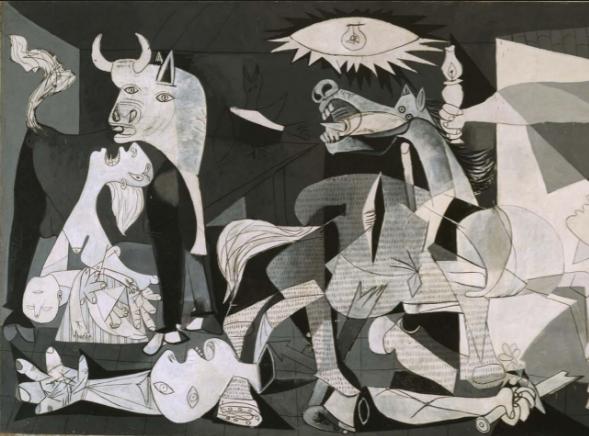 Cubismo- El Gernika de Picasso