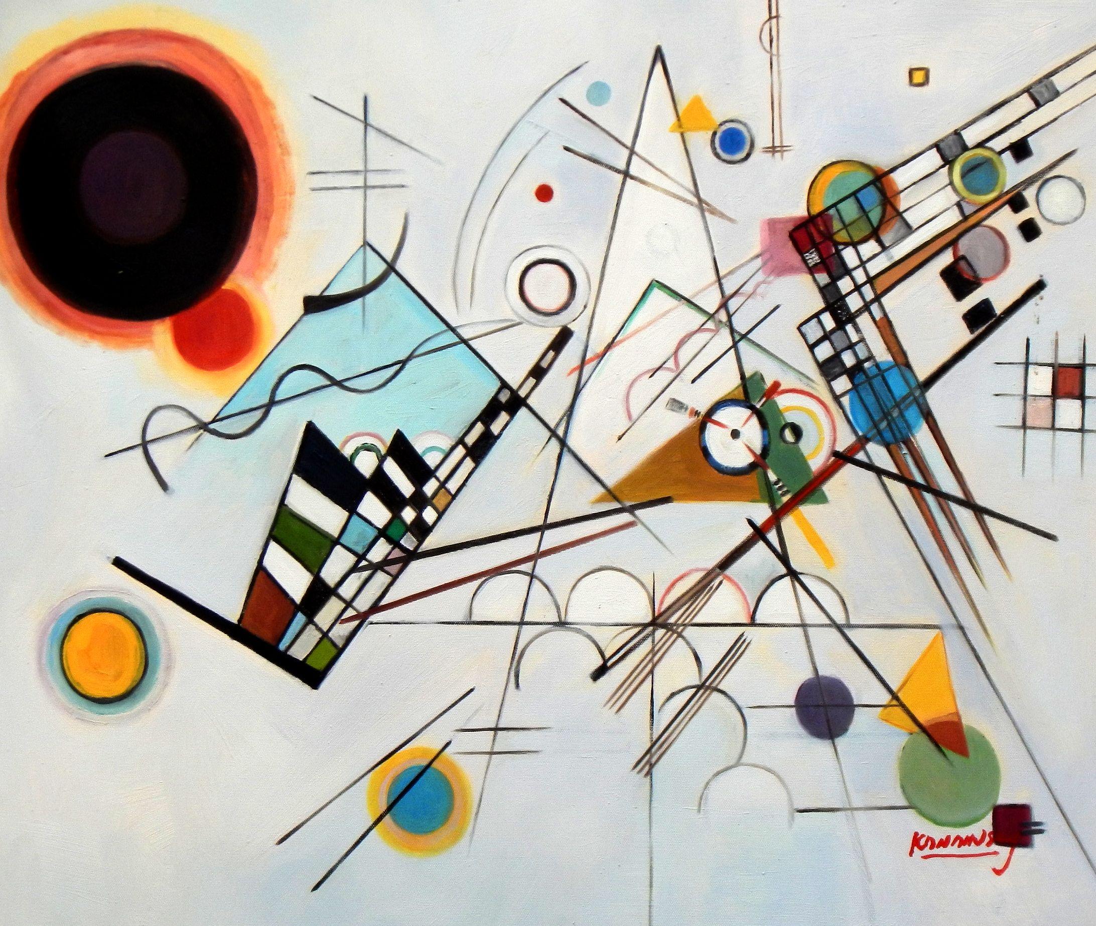 Neoplasticismo - Kandinsky