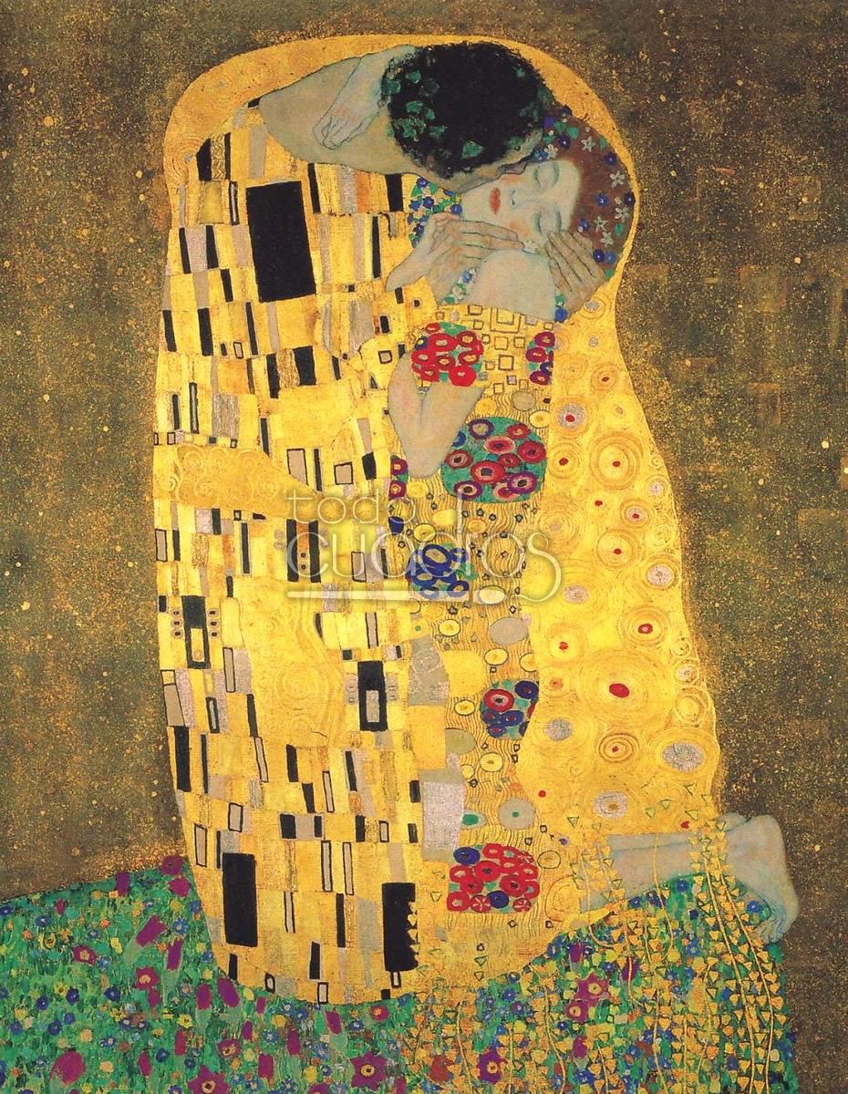 el beso de Klimt