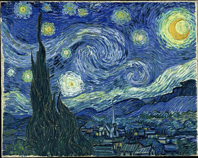 Neoimpresionismo - Van Gogh, la noche estrellada