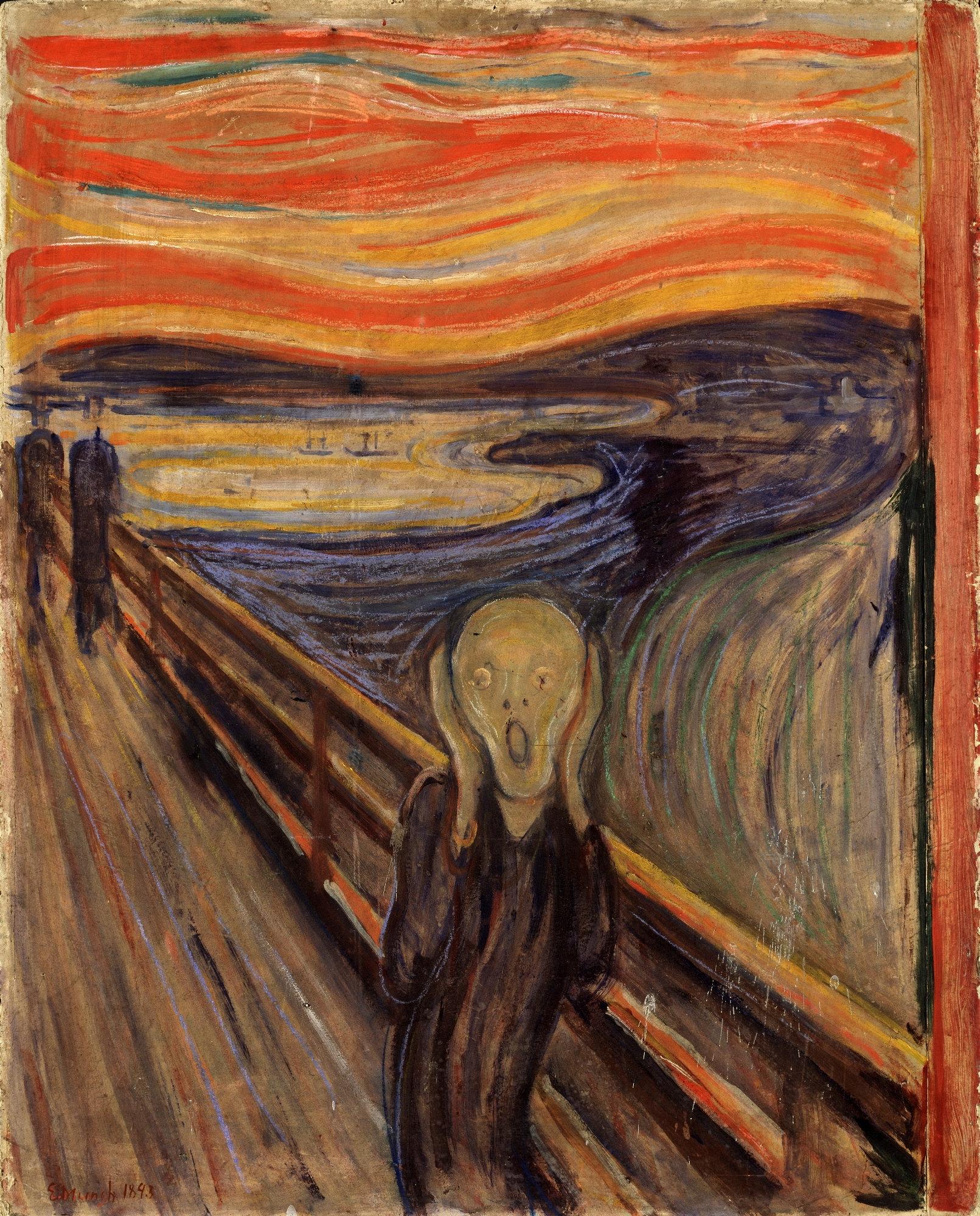 Expresionismo - El grito de Munch
