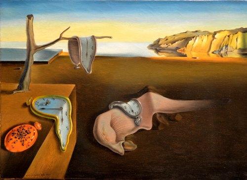 Surrealismo - La persistencia d ela memoria, Dalí
