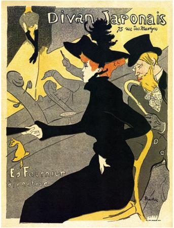 """""""Divan Japonaise"""" Toulouse Lautrec"""